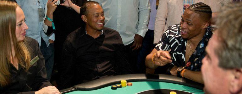 Tiger Woods KO'd by NBA Star at Tiger Jam Charity Poker Event