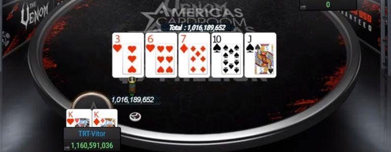 TRT-Vitor Scoops $1.39million Venom Win On ACR