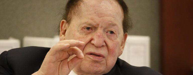 Trump and Adelson on Forbes' List of