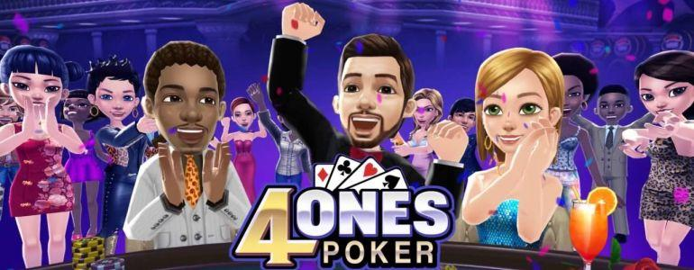 4Ones Poker: The Mental Challenge of Online Poker meets The Fun of Video Games