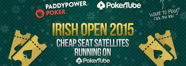 Irish Open 2015 with Paddy Power and PokerTube