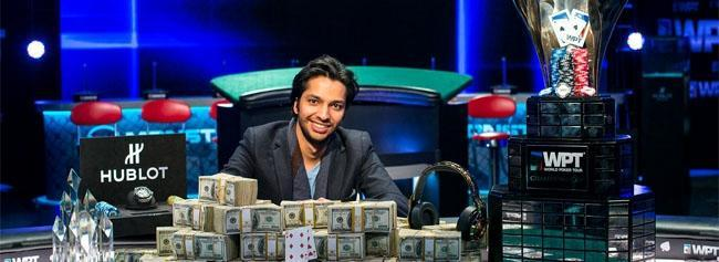 Mohsin Charania Takes Down Five Diamond World Poker Classic for his Second WPT Title