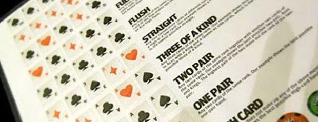 The Ultimate Poker Cheat Sheet