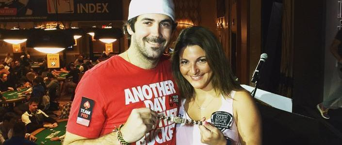 Mercier Proposes to Barbour at WSOP