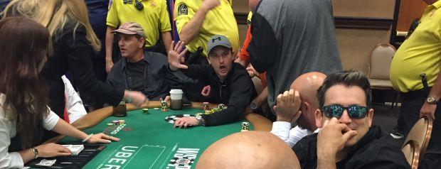 Cory A. Cunningham Literally DRAGGED Out of the WSOP