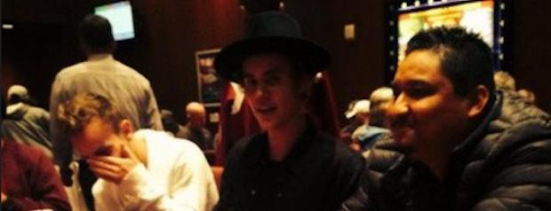 Bieber Takes to The Poker Tables!