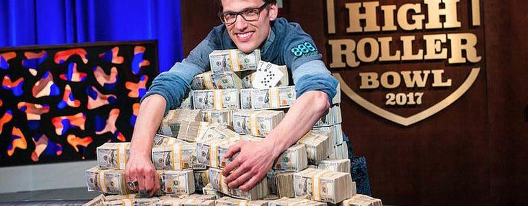 Christoph Vogelsang Wins 2017 Super High Roller Bowl For $6,000,000