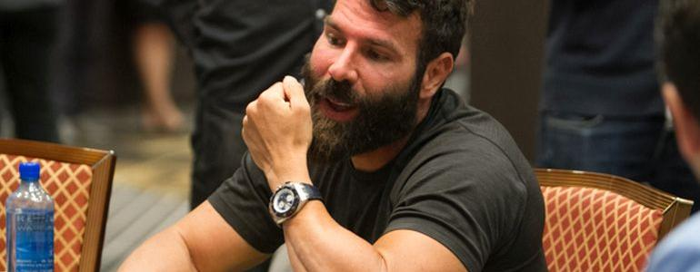 Dan Bilzerian Shows Up at WSOP