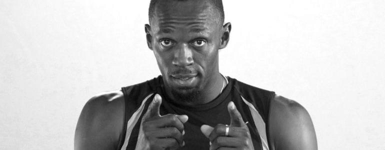 Usain Bolt and Kevin Hart Launch a Battle of Wits