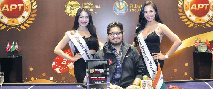 Varun Gupta Wins the Asian Poker Tour Finale Macau Main Event For HK$300,400
