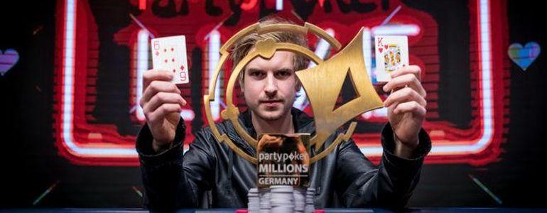Viktor 'Isildur1' Blom Wins PartyPokerMILLIONS Main Event for  €850,000