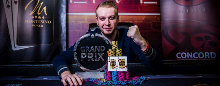 Vladimir Burstein Wins Party Poker LIVE Grand Prix Austria Main Event For $47,520