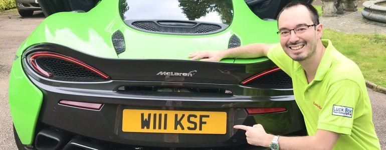 William Kassouf Uses Online Poker Winnings to Buy McLaren Supercar!