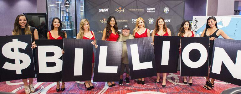 WPT Pays Out Its $1Billionth