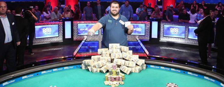WSOP Main Event: The Taxman Wins Over $6million!