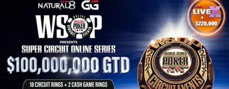 WSOP Super Circuit Online Series 2021: Natural8-Exclusive Promotions