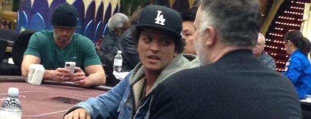 Bruno Mars the Cardplayer