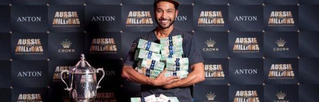 Aussie Millions Winner Turns $130 Into $1.2million