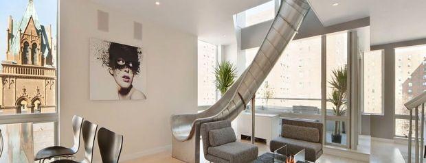 Phil Galfond Selling His Custom Duplex Apartment Slide