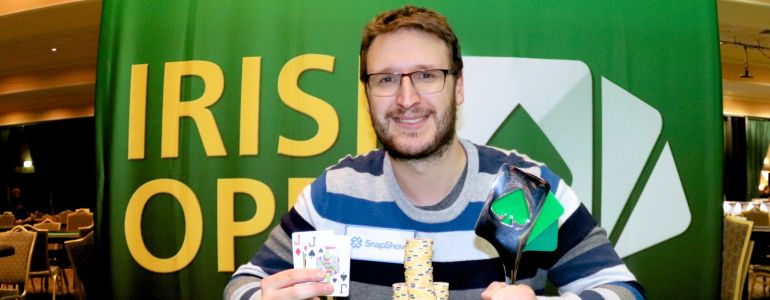 Max Silver Binks 2019 Irish Open High Roller for €45,130