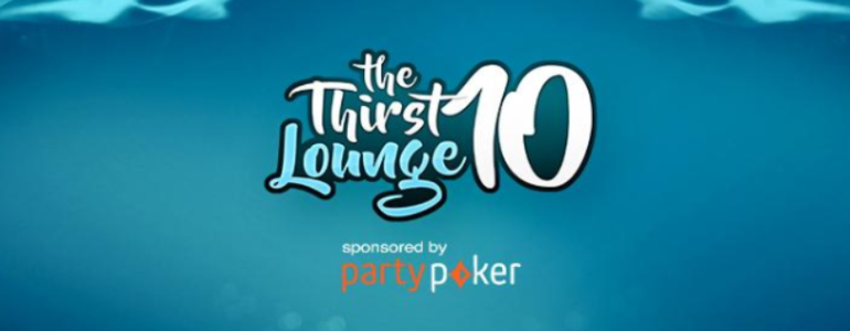 partypoker Becomes Official Sponsor of The Thirst Lounge
