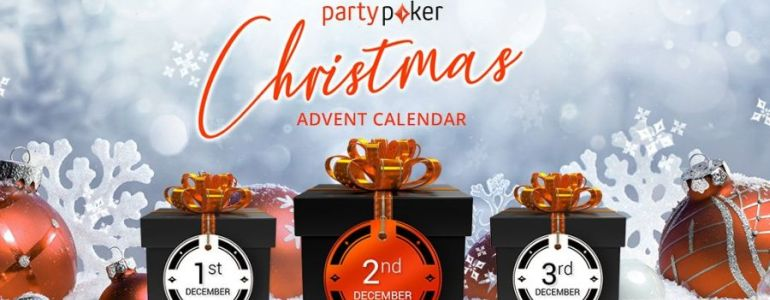 Partypoker's Advent Calendar Guarantees Great Christmas Prizes