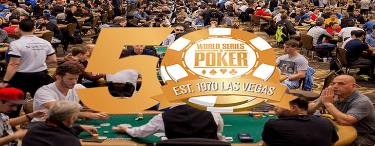 WSOP to Honour 50 Greatest Players in Special Awards Ceremony