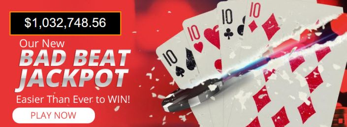 BetOnline Bad Beat Jackpot Reaches Over $1,000,000