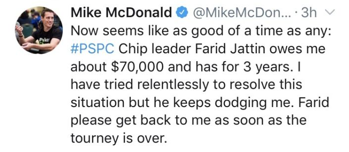 Mike McDonald Calls Out Farid Jattin Over $70k Unpaid Debts
