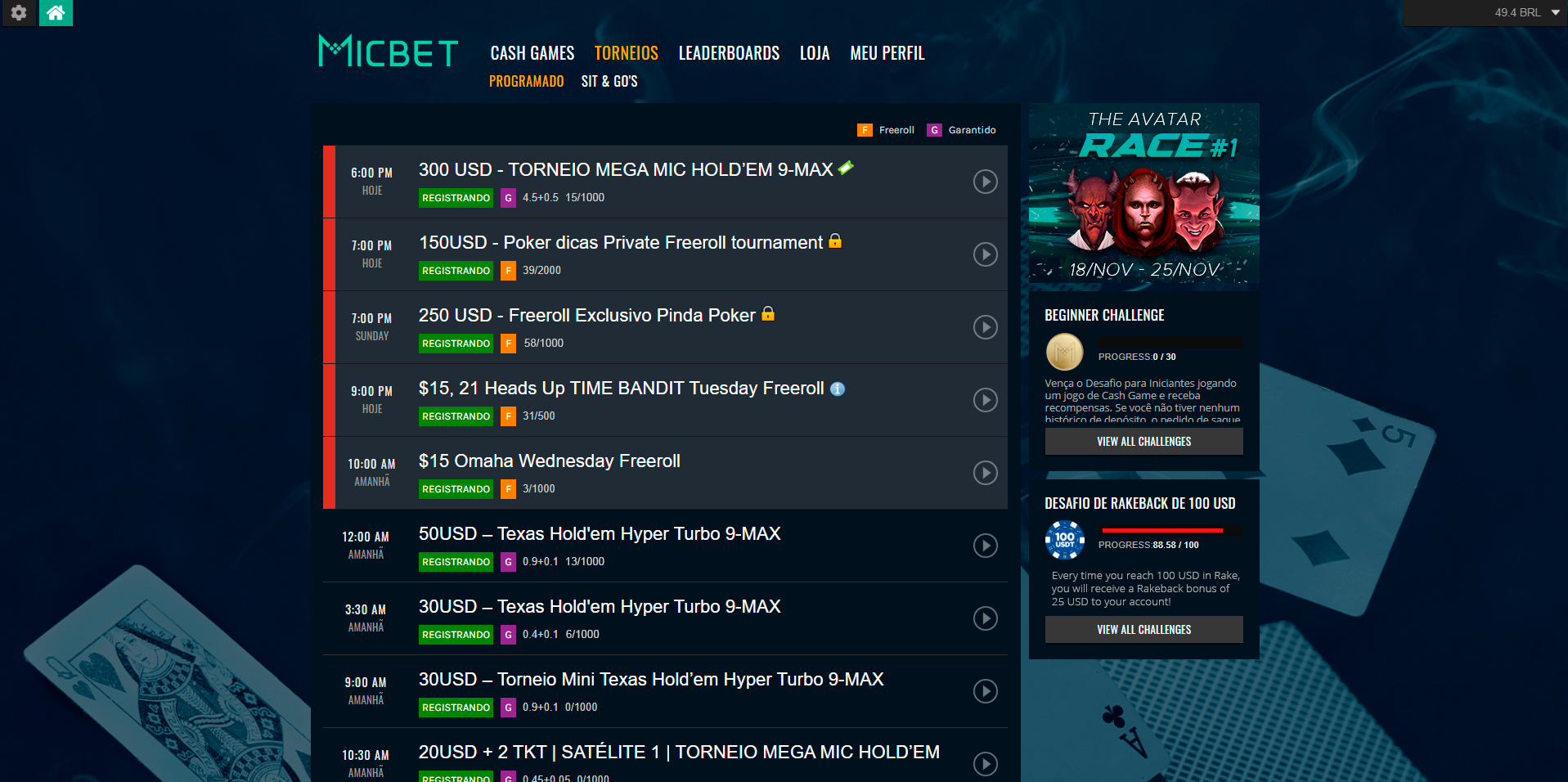 MICBET Cryptopoker Room Looking To Tick All The Boxes