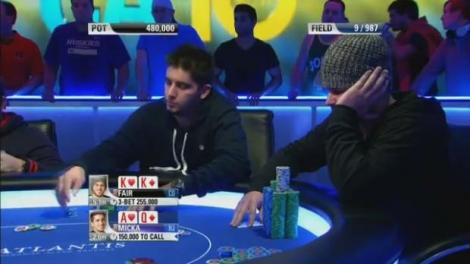 Great Poker Hand Joel Micka Vs Ryan Fair Pokertube