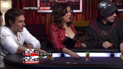 Tilly poker player