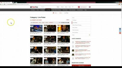 video pokertube
