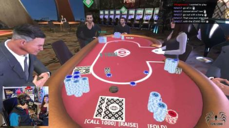 Virtual Reality Poker - Next Big Thing? - PokerTube