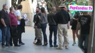 Dan Bilzerian Entourage arrive LA Kings vs Chicago Blackhawks