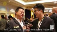 Johnny Chan at the Poker King Grand Opening