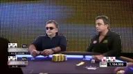 Mikhail Smirnov Overvaluing Second Pair vs Joe Hachem