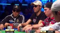 Phil Ivey mucks his wining flush hand at WSOP ME