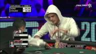 Staszko hero calls Heinz at WSOP ME Final Table
