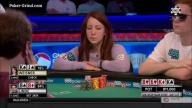 2016 WSOP - Can Melanie Weisner Make The Herofold?
