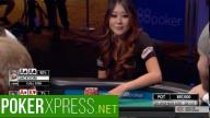 2016 WSOP - Maria Ho All In Against Pocket Aces