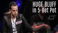 Alec Torelli - Big Bluff in 5-Bet Pot