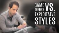 Alec Torelli - Game Theory  vs Exploitative Styles?