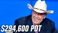 Doyle Brunson FIGHTS Young Gun For $294,600 Pot