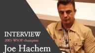 Holdem School Interviews Joe Hachen