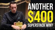 Jeff Boski - Vlog #20 : Another $400 Superstack Win?
