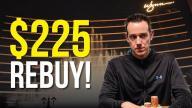Jeff Boski - Vlog #22 : Wynn $225 REBUY!