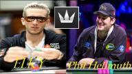 Phil Hellmuth Blasting Away vs ElkY