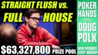 Poker Hands - Folding a Full House in the 2016 WSOP Main Event