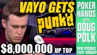 Poker Hands - Gordon Vayo Gets PUNKED